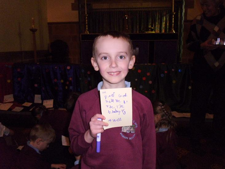 Well done  - Charlie a super prayer.