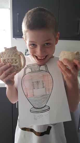 Ross' s Greek Pot Design