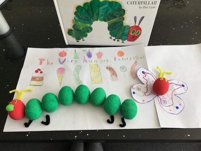 Grace- The Hungry caterpillar