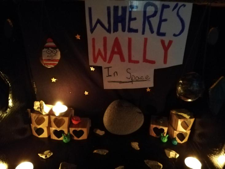 Willow- Where's wally in Space