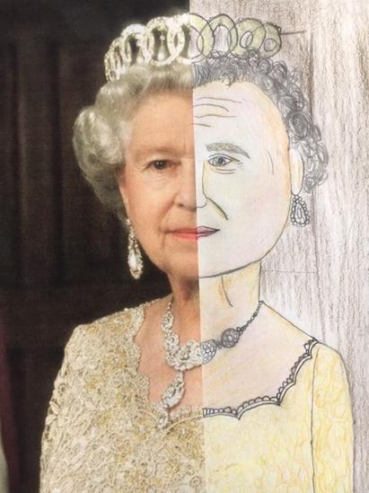 Bella's portrait of the Queen