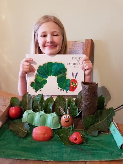 Abbie - Hungry caterpillar