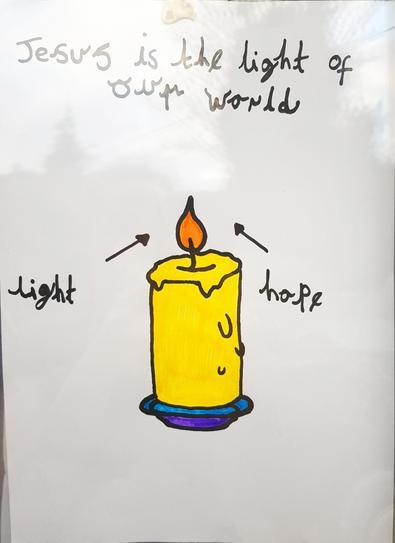 A wonderful candle