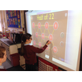 Numeracy games of the interactive whiteboard