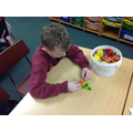 We used shapes to make objects