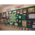 Whole school Maths Display during Maths Week 2015