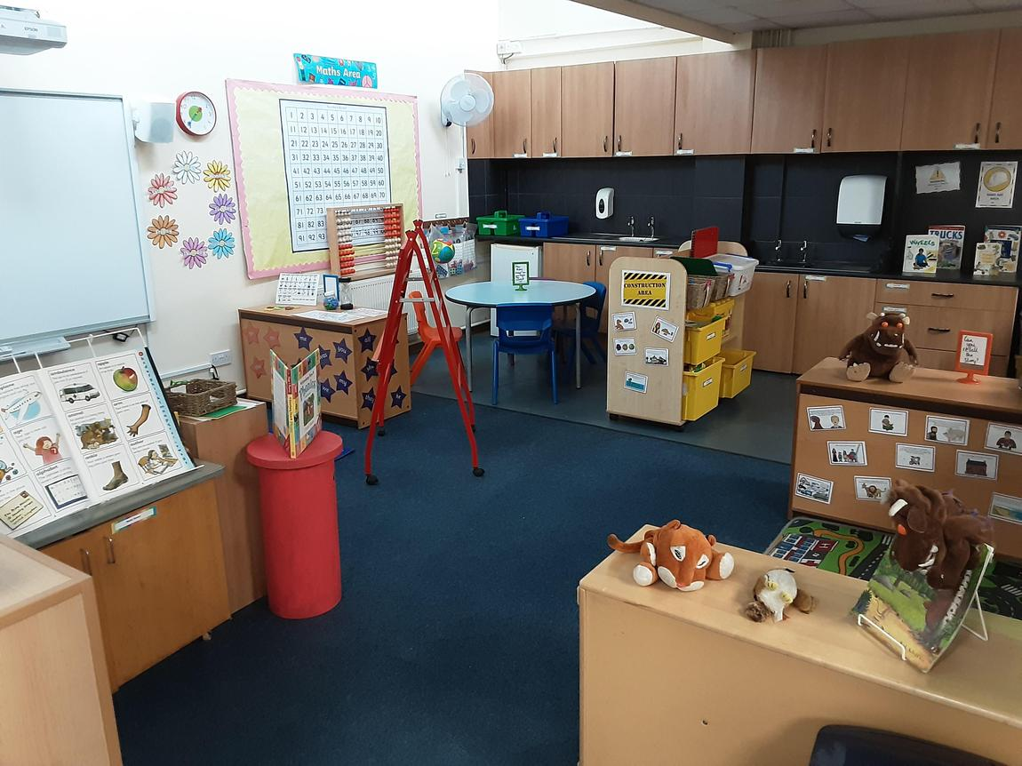 KS1 Continous Provision Area