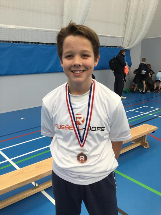 Sportsman of the tournament - Daniel Downing