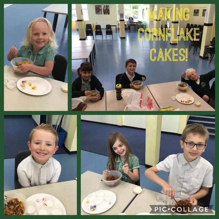 Our delicious cornflake cakes!