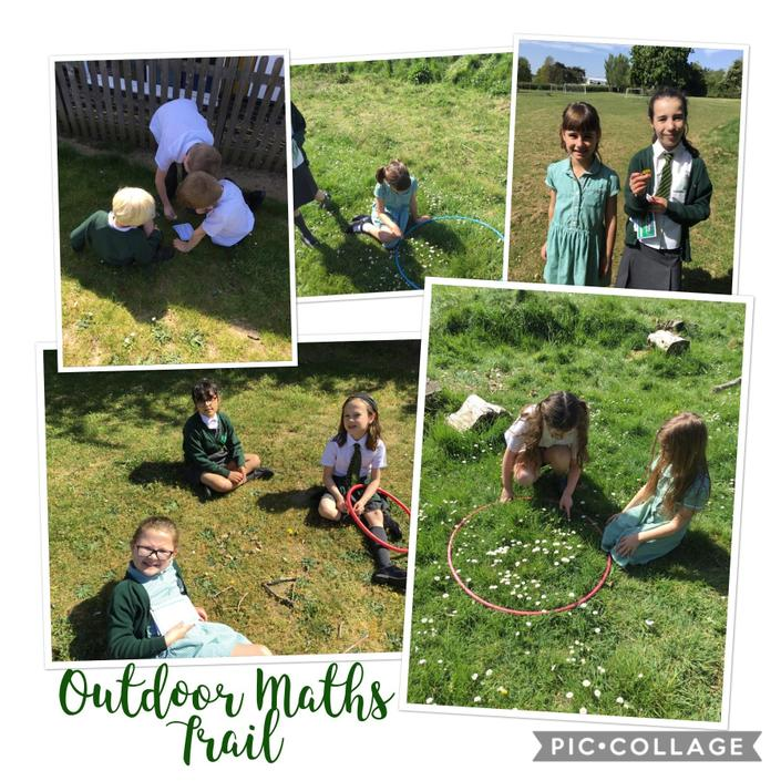 Outdoor Maths Trail