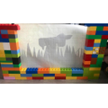 Archie's shadow puppet theatre (Y4)