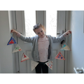 Abigail's bunting for VE Day