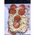 Caitlin's pizza
