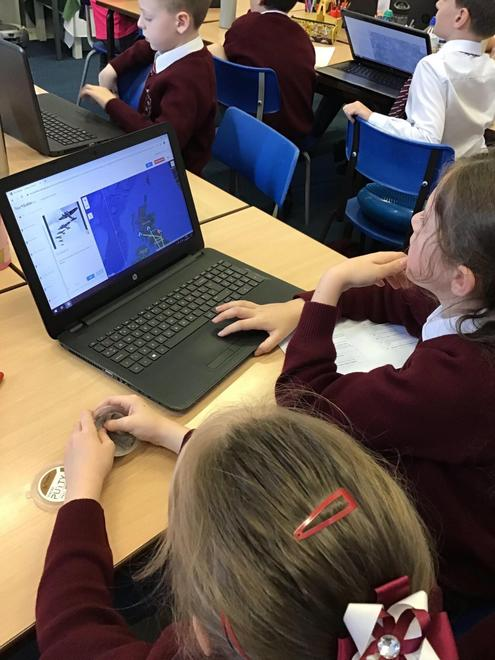 Year 5 - Using google maps linked to History.