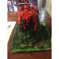 Louis' volcano