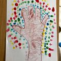Archie's Pointillism tree