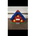 Luke's Lego house for home learning