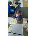 Study maps of Hadfield