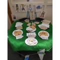 WE ENJOYED A MAD HATTERS TEA PARTY