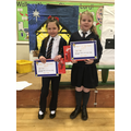 Year 3 winners