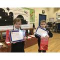 Reception winners