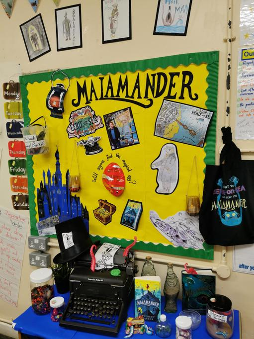 Our Eerie Malamander classroom display!