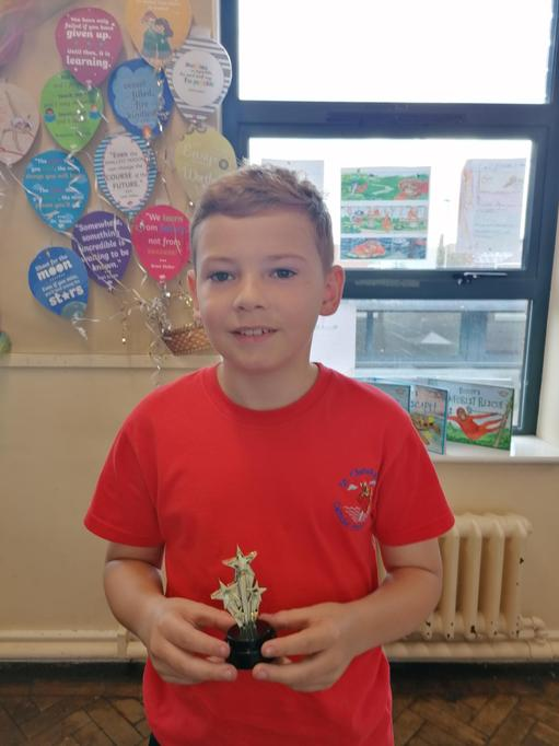Caring award - Thank you for being a perfect role model for your peers!