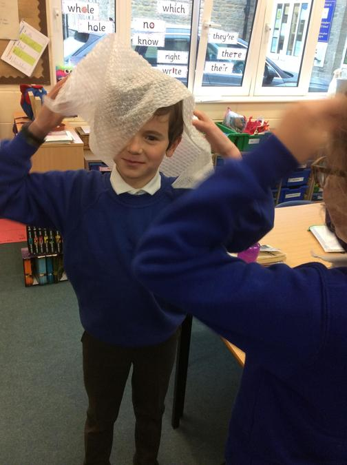 Our initial investigation looked at which material could make a good hat.