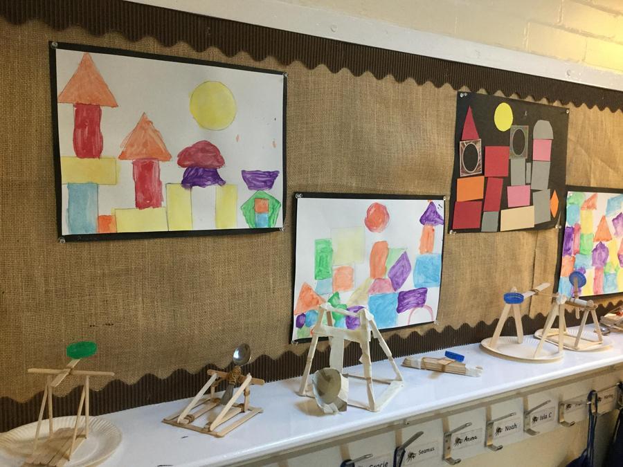 Paul Klee inspired work (KS1)