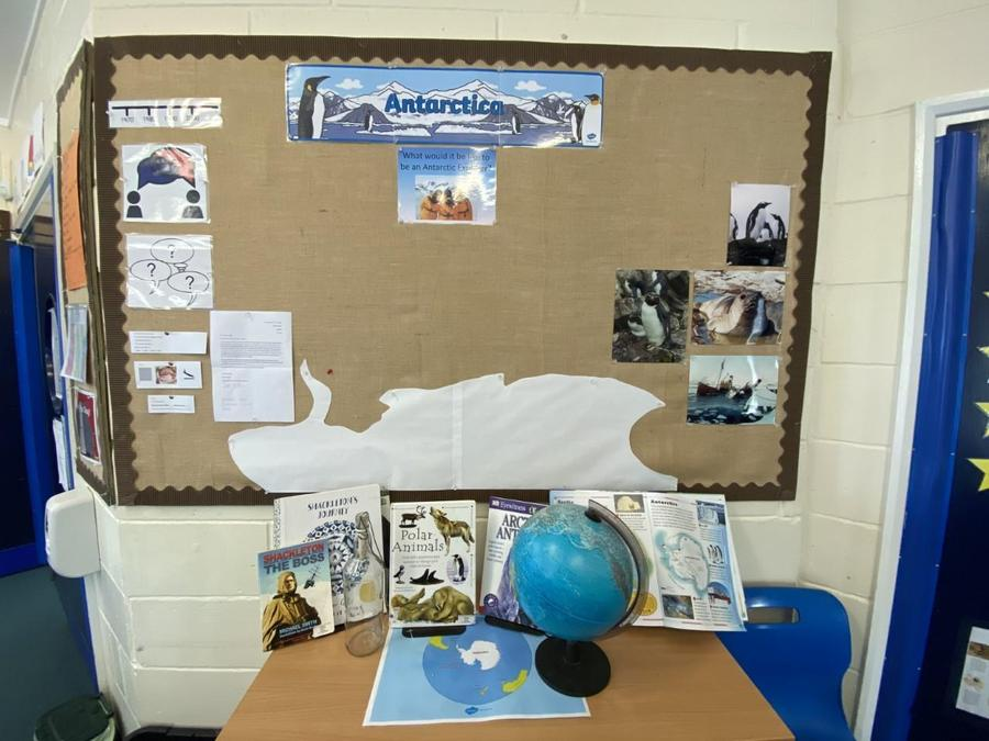 24/03/21 - Topic Working Wall (Antarctica)