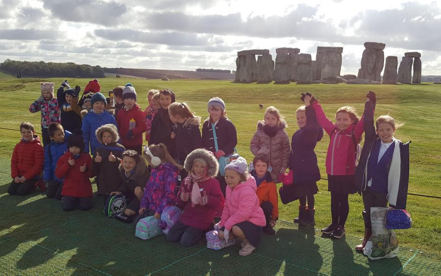 Amazing day at Stonehenge!