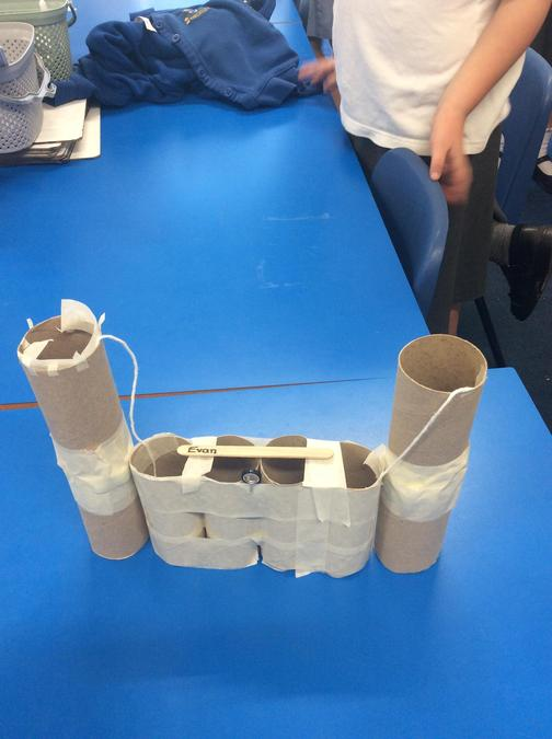 Designing, making and evaluating a castle.