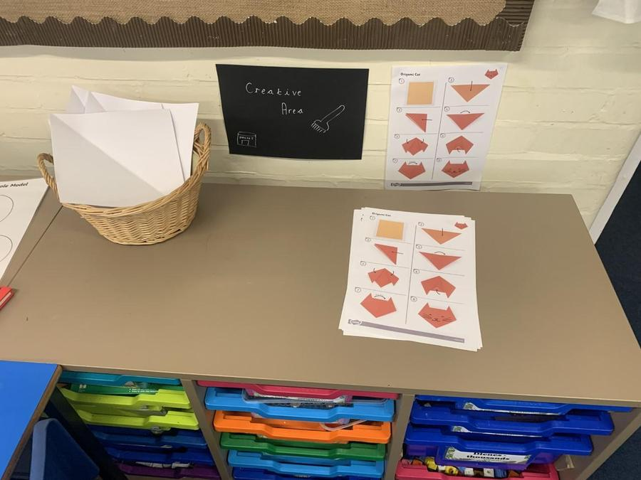 Creative area - origami