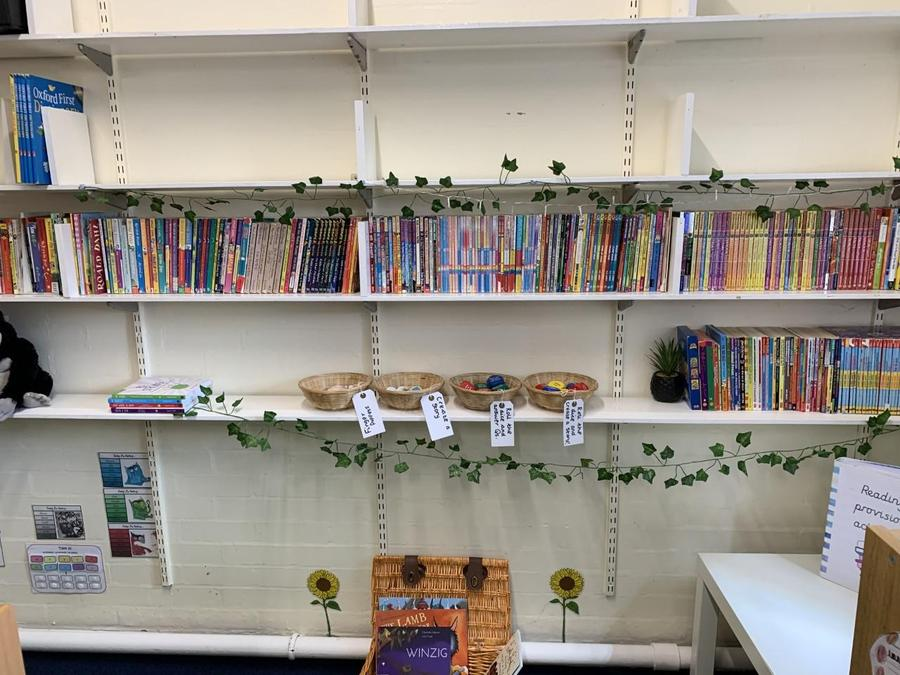 Examples of reading provision.