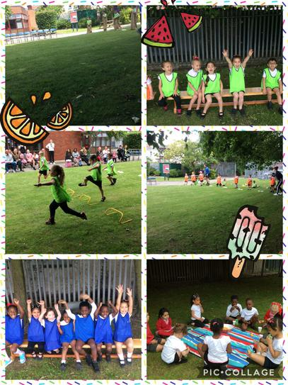 Well done to everybody that took part in our EYFS Sports day! Thanks to all the family members who came to watch. :)