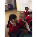 We learnt the 'If I were a butterfly' song.