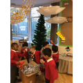 Preparing the Nursery Christmas!