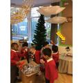 Preparing the Nursery Christmas!