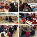 Sharing a love of books with our families.
