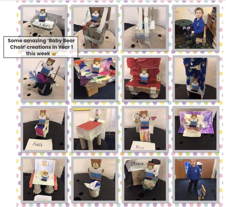 Year 1 more products for baby bear