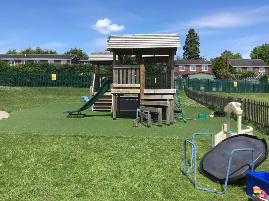 We are very proud of our fantastic outdoor space!