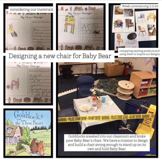 Year 1 design for baby bear