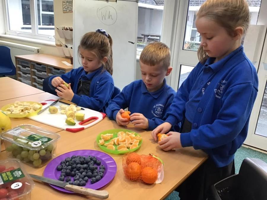 Health snacks in Year 2
