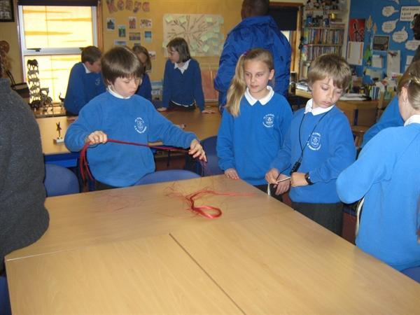 Making Sizal ropes