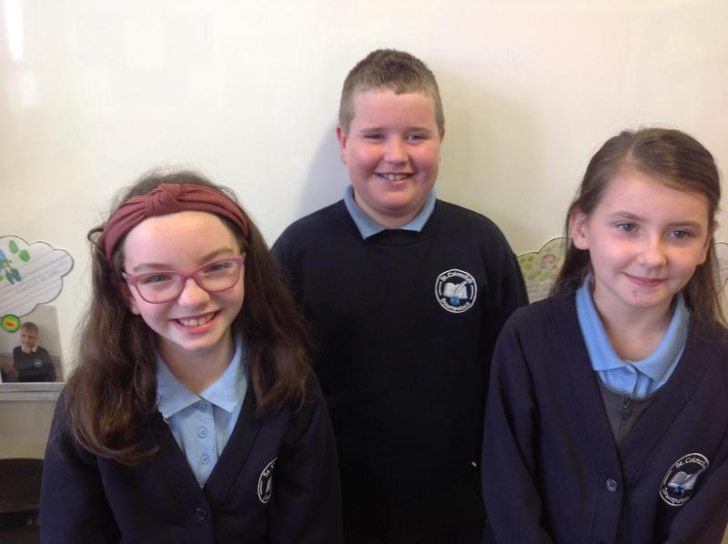 Our new class representatives.