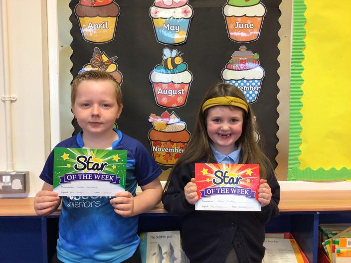 Well done Caiden and Grace!