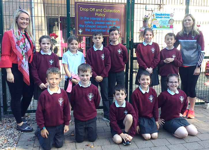 The Eco-council which is led by Miss Owens, Mrs Rogers and Conla Coney (Chairperson), Alana Rafferty (Secretary), Ellie Gormley, Ava Marley, Conal Loughran, Niall McGlinchey, Daniel Hempenstall, Ronan McNamee, Eoghan Donnelly, Ciara McCullagh and Izzy Gormley has launched a series of activities for this year.
