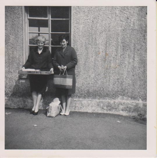 1965 Mary alice Daly & Mary Morris