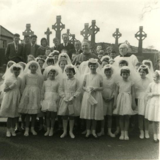 Early 1960's Confirmation group