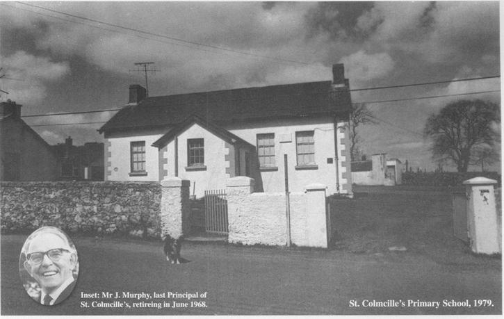 Mr Murphy and the old St Colmcille's PS